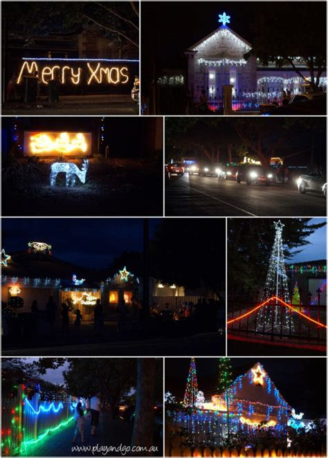 christmas light displays 2013 adelaide suburban streets