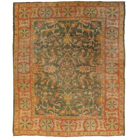 Safavieh Wiki Coral Rugs Blues Oushak Carpet Turkish Rugs Handmade