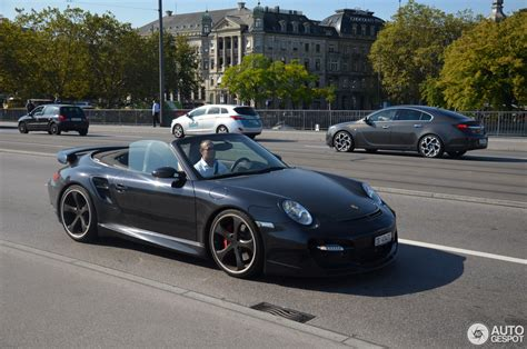 Porsche 997 Turbo by Porsche 997 Turbo Cabriolet Techart 9 Oktober 2016