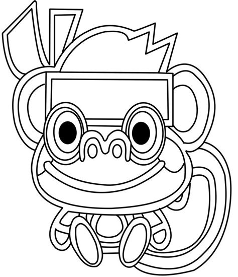 Moshling Colouring Pages Moshling Coloring Pages