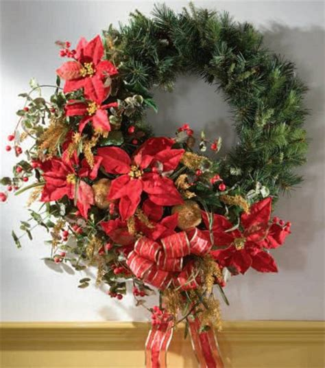 elegant christmas wreath xmas decor ideas pinterest