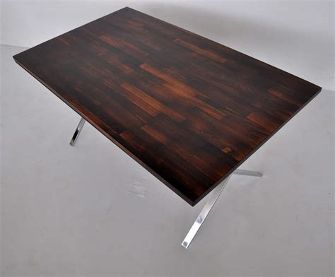 milo baughman rosewood desk milo baughman rosewood x base desk or dining for