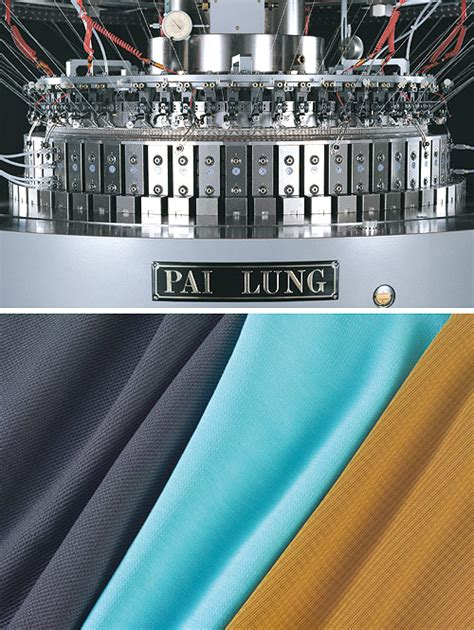 industrial knitting machine pai lung achieves great success at itma 2007