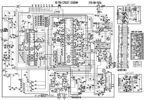 capacitor de tv lg esquema el 233 trico lg tv chassis nc 55a