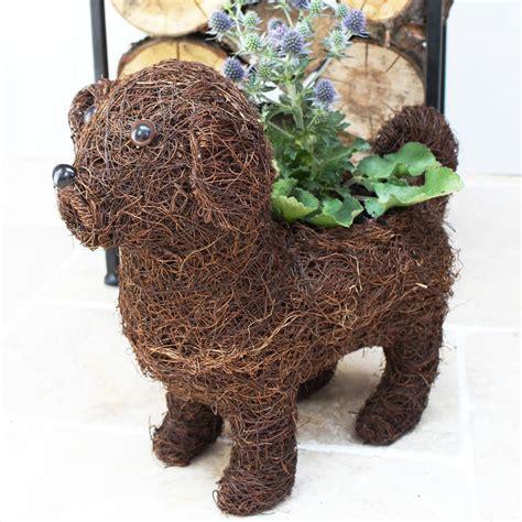 pug planter pug planter by marquis dawe notonthehighstreet