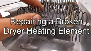 How To Repair A Clothes Dryer How To Repair A Broken Dryer Heating Element