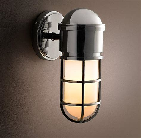 Restoration Hardware Wall Sconces Maritime Caged Sconce Sconces Restoration Hardware