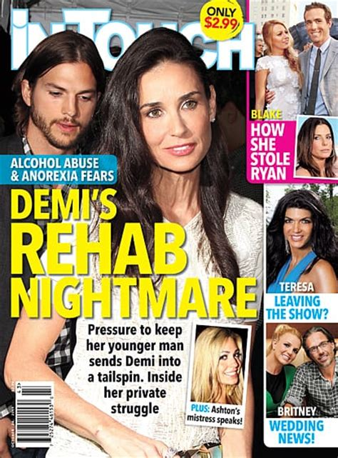 Bruce Wont Stop Lovin Demi by Demi Tabloid Cover The Gossip