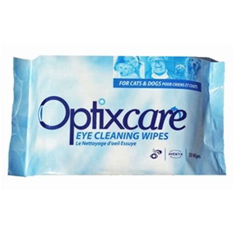 eye wipes optixcare eye cleaning wipes 50 wipes vetdepot