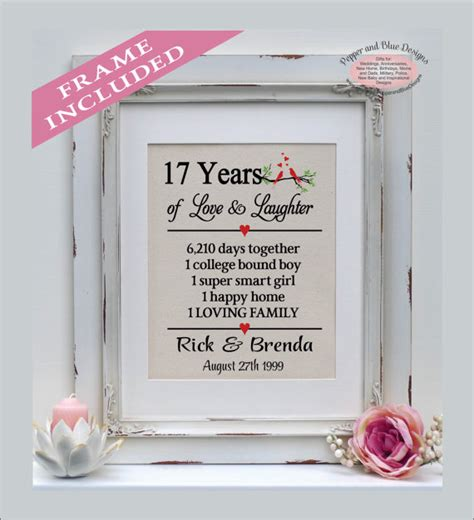 traditional 17th wedding anniversary gifts 17th wedding anniversary gifts 17 years married 17 years