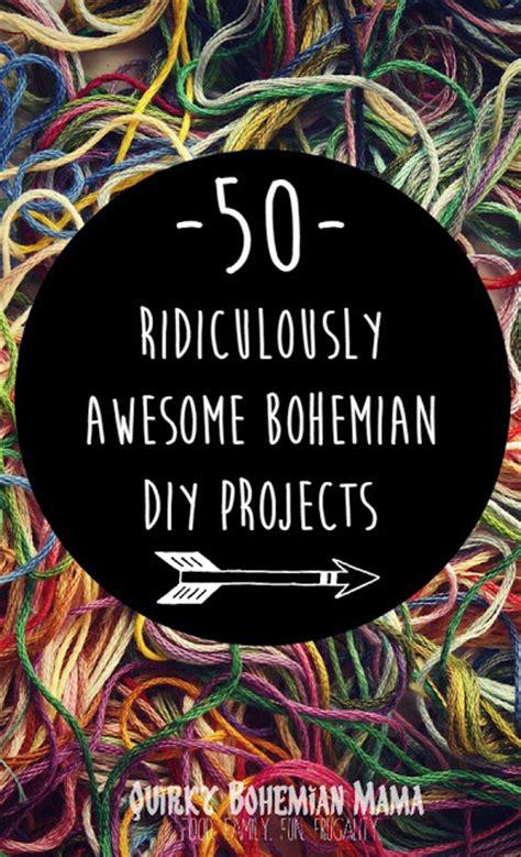 Quirky bohemian mama a bohemian mom blog 50 exquisite diy bohemian projects diy boho hippie