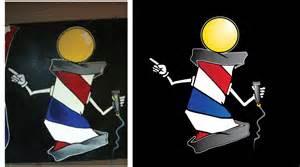 Urban Style Barber Shop - alex t design recent logo work