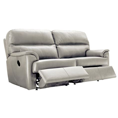 G Plan Recliner Sofas G Plan Watson 3 Seater Power Recliner Sofa Leekes