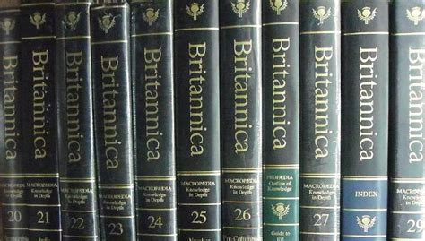 encyclopedia britannica ends print edition   years