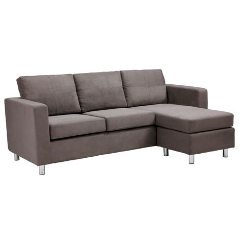 small gray sectional sofa awesome modern minimalist design small sectional sofa in