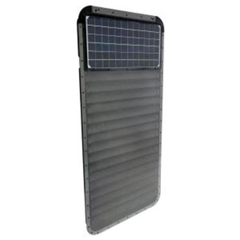 solar window home depot solar infra systems high efficiency solar thermal air heater sis50m2448 the home depot