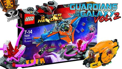Lego Guardian Of Galaxy 3 lego guardians of the galaxy vol 2 set pictures revealed