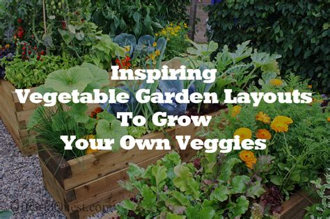 How To Make Your Own Vegetable Garden Inspiring Vegetable Gardens And How To Create Your Own