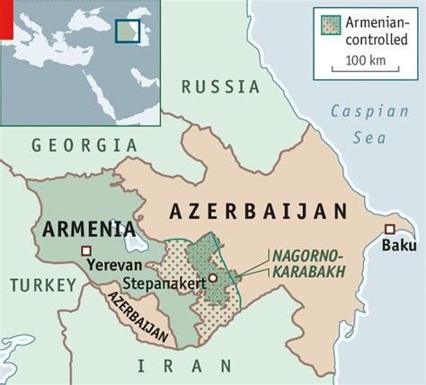 russia map azerbaijan usa starts another proxy war nagorno karabach armenia vs
