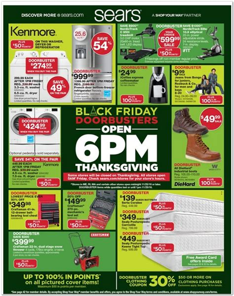 Mattress Warehouse Black Friday Sale by Sears Black Friday Ad And Sears Black Friday Deals For