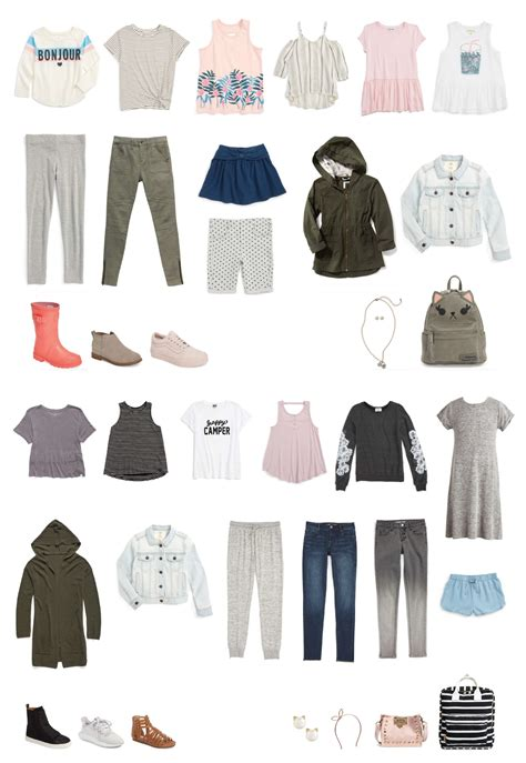Fashion Wardrobe - fall 2017 back to school capsule wardrobe style