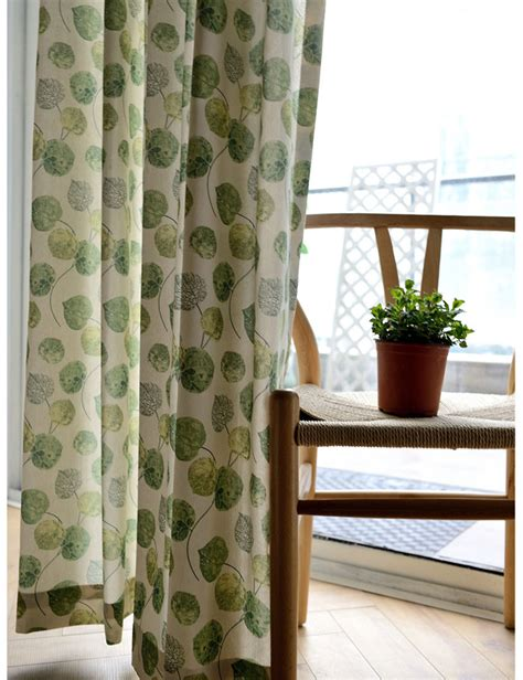 Patterned Kitchen Curtains Popular Green Patterned Curtains Buy Cheap Green Patterned Curtains Lots From China Green