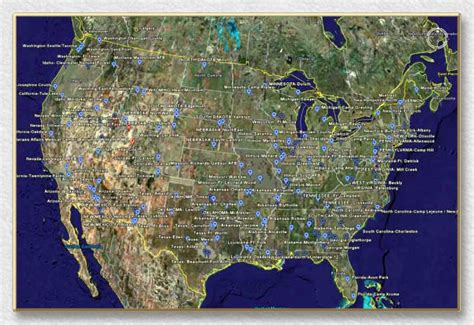 fema cs usa map map of concentration cs in the usa are you going to