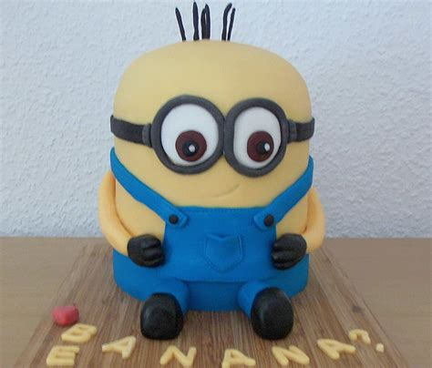 minions kuchen backen 3d minion rebekkah chefkoch de