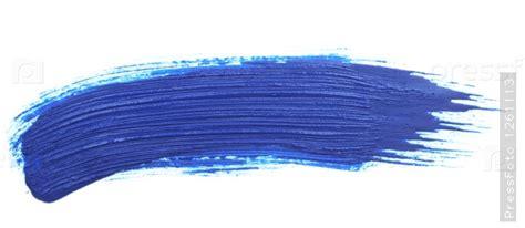 мазок синей краской на белом фоне фотография pressfoto