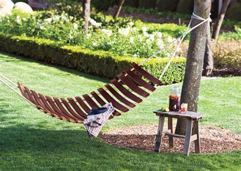 backyard creations hammock wine barrel stave hammock the green head