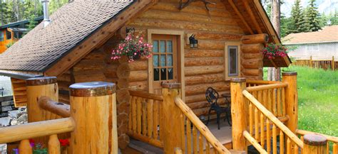banff cabin banff log cabin bed breakfast accommodation