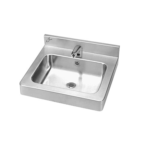 Just Sinks Just Manufacturing A33338 1 Stainless Steel Lavatory Sink