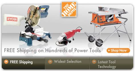 homedepot free shipping dealmonger toolmonger page 46