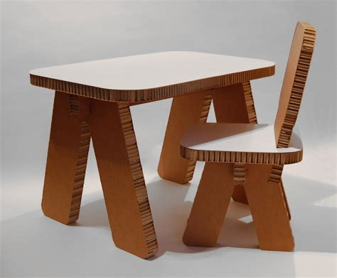 How To Make Paper Table - cardboard furniture design ideas home design architecture