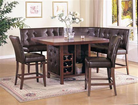 Corner Dining Set     Dining Set (Table, 2 Loveseats, 2
