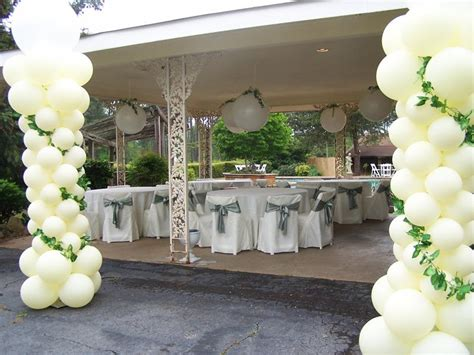 Balloon Decoration For Wedding Reception by Letha S And Kris Humphries