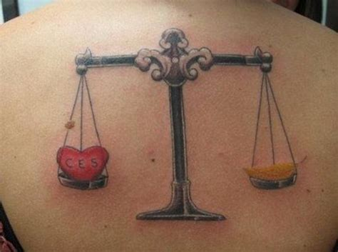 irresistible libra tattoos  history meaning