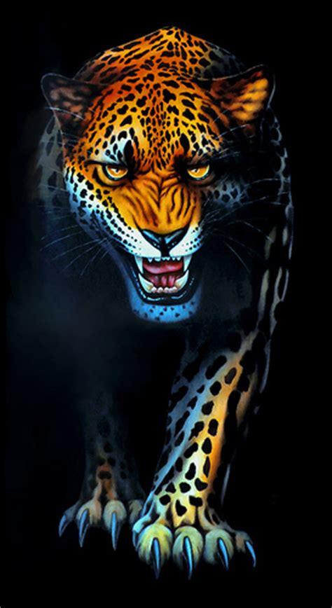wallpaper harimau hitam photo