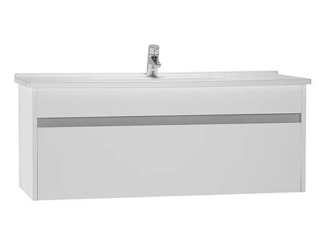 Vitra S50 Vanity Unit by Vitra S50 120cm Vanity Unit And Basin White