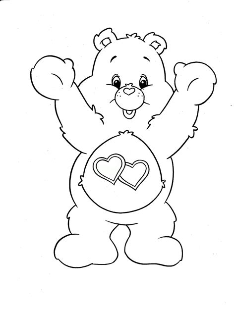 wonderheart bear coloring pages care bears coloring pages care bear coloring page my