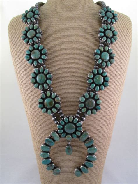 how to make turquoise jewelry pilot mountain turquoise squash blossom necklace two