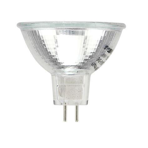 sylvania 75 watt indoor halogen flood light bulb shop sylvania 20 watt dimmable warm white mr16 halogen