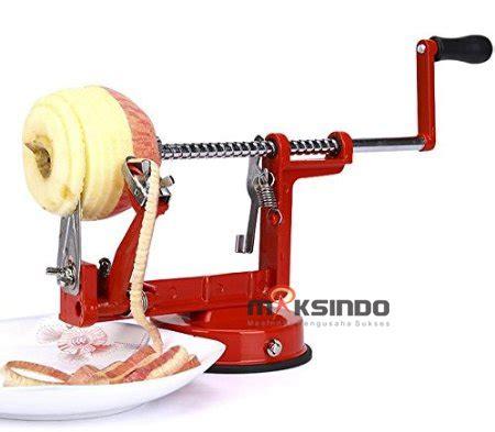 Alat Slicerpengupas Kulit Apel Buah Pir Dan Kentang Praktis alat pengiris apel mks apl88 toko mesin maksindo toko mesin maksindo