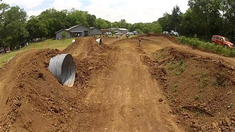 backyard dirt bike track klx 110l pit bike track sunday fun day gopro hd youtube