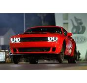 The 2018 Dodge Demon Runs 9s Lifts Front Wheels  DodgeForumcom