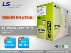 Dijamin Ls Simple Cable Kabel Utp Cat 5e ls cable utp cat 6 utp cable 4 pair next generation ls simple cat 6 solutions is highly