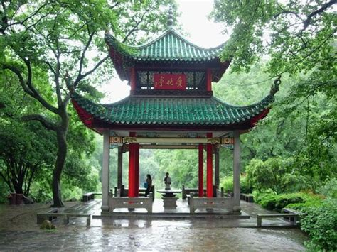 traditional chinese style architecture aiwan pavilion changsha hunan for jeff pinterest