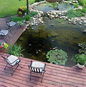 Pond Deck Designs 35 Cool Outdoor Deck Designs Digsdigs