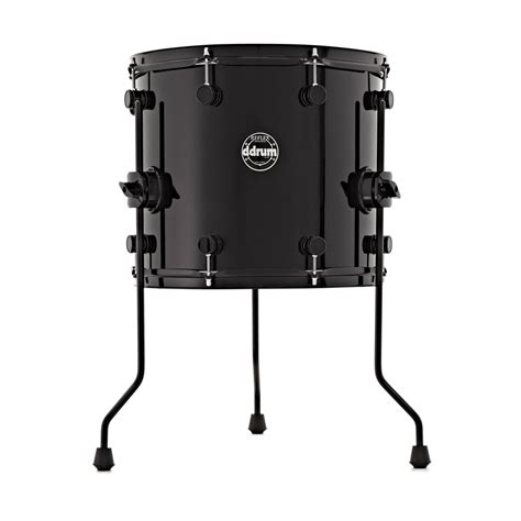 10 X 14 Floor Tom - ddrum reflex 14 x 12 floor tom black at gear4music