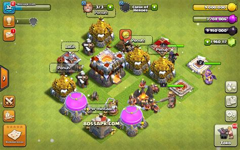download game clash of clans mod apk terbaru android clash of heroes v1 2 mod apk unlimited all coc fhx privat